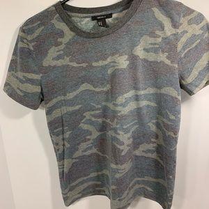 Camo T-Shirt, Forever 21, size medium